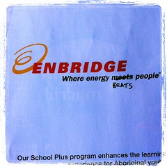 I just had to truthify the Enbridge ad in the latest issue of @WalrusMagazine.