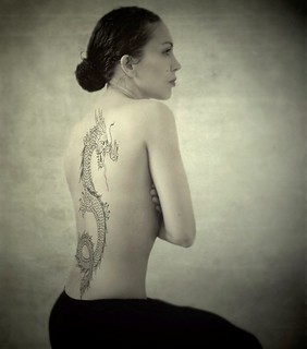 The girl with the dragon tattoo ;)