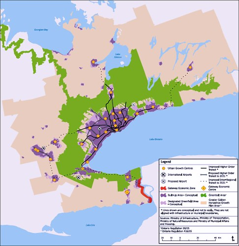 Places to Grow, Greater Golden Horseshoe (by: Ontario Growth Secretariat)