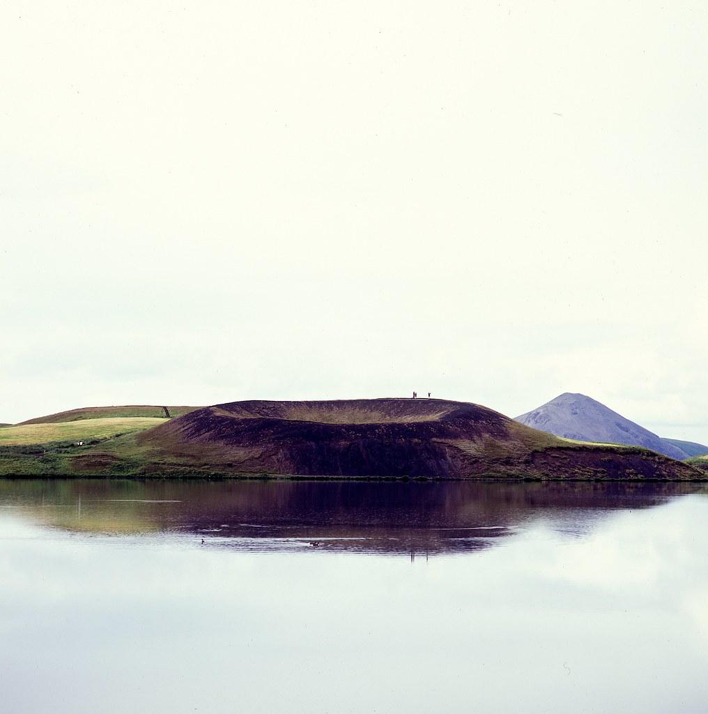 "Image titled ""Pseudocrater, Skútustaðir, Iceland."""