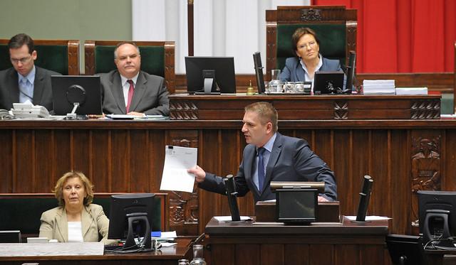 Bartosz Arlukowicz im Sejm