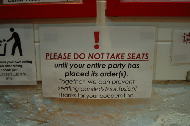 fights over seats?