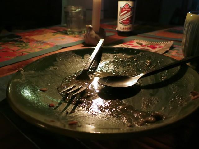 Dinner's over