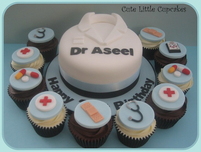 Doctor Cake & Cupcakes  Flickr - Photo Sharing!