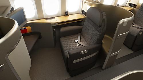 American 777-300ER First Class