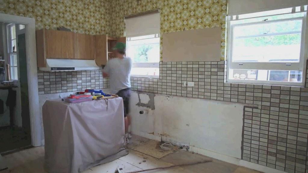Kitchen Reno Timelapse 2