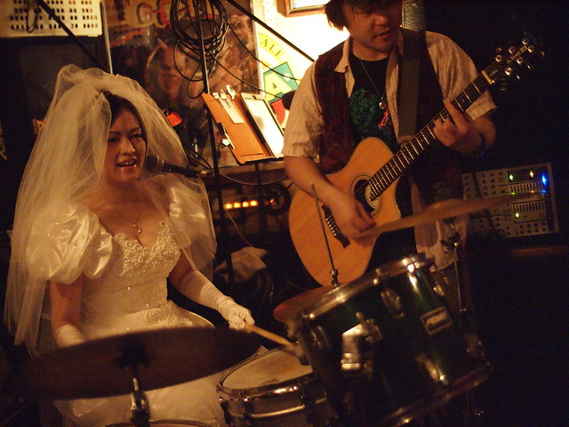 "The Warrior Celt ""just married"" session, Tokyo, 28 Jan 2012. 129"