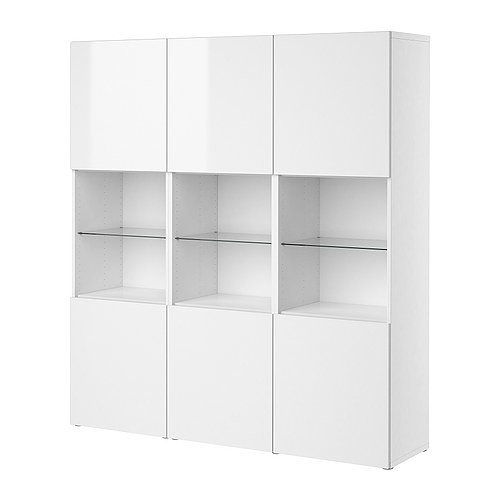 besta-storage-combination-with-doors-white-high ...