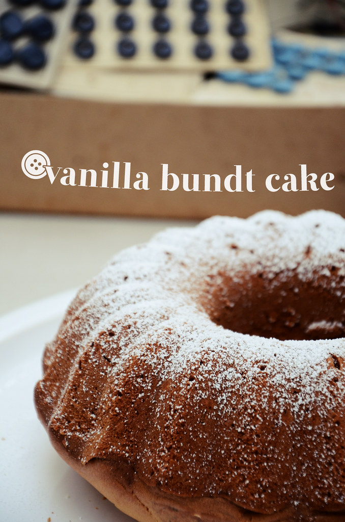 Coffee Flavoured Bundt Cake Recipe
