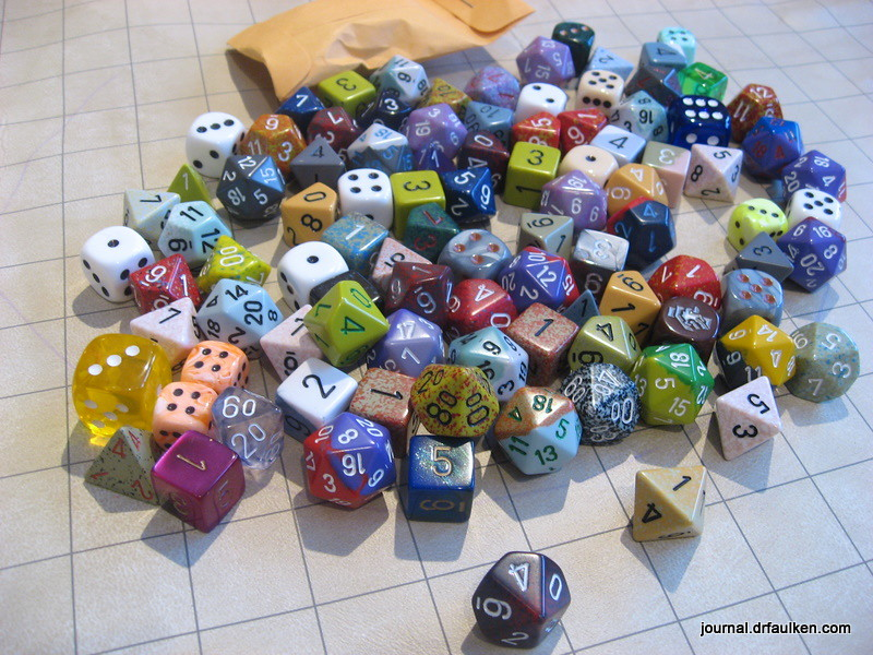 Chessex Pound of Dice