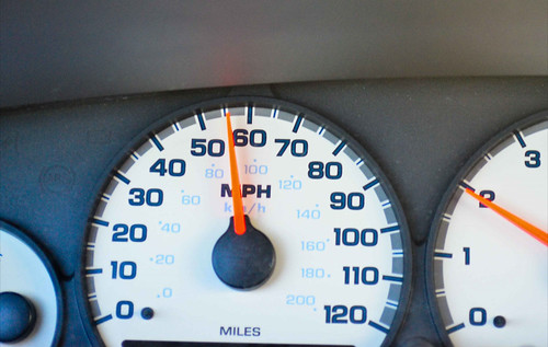 Don't Speed - Instead, Use Cruise Control (42/365)