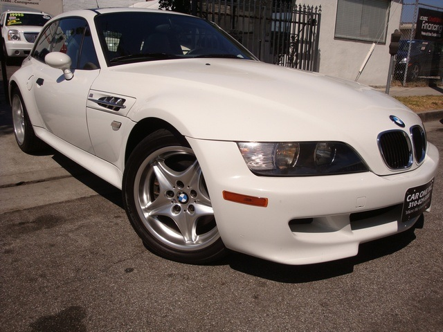 2000 M Coupe | Alpine White | Gray/Black