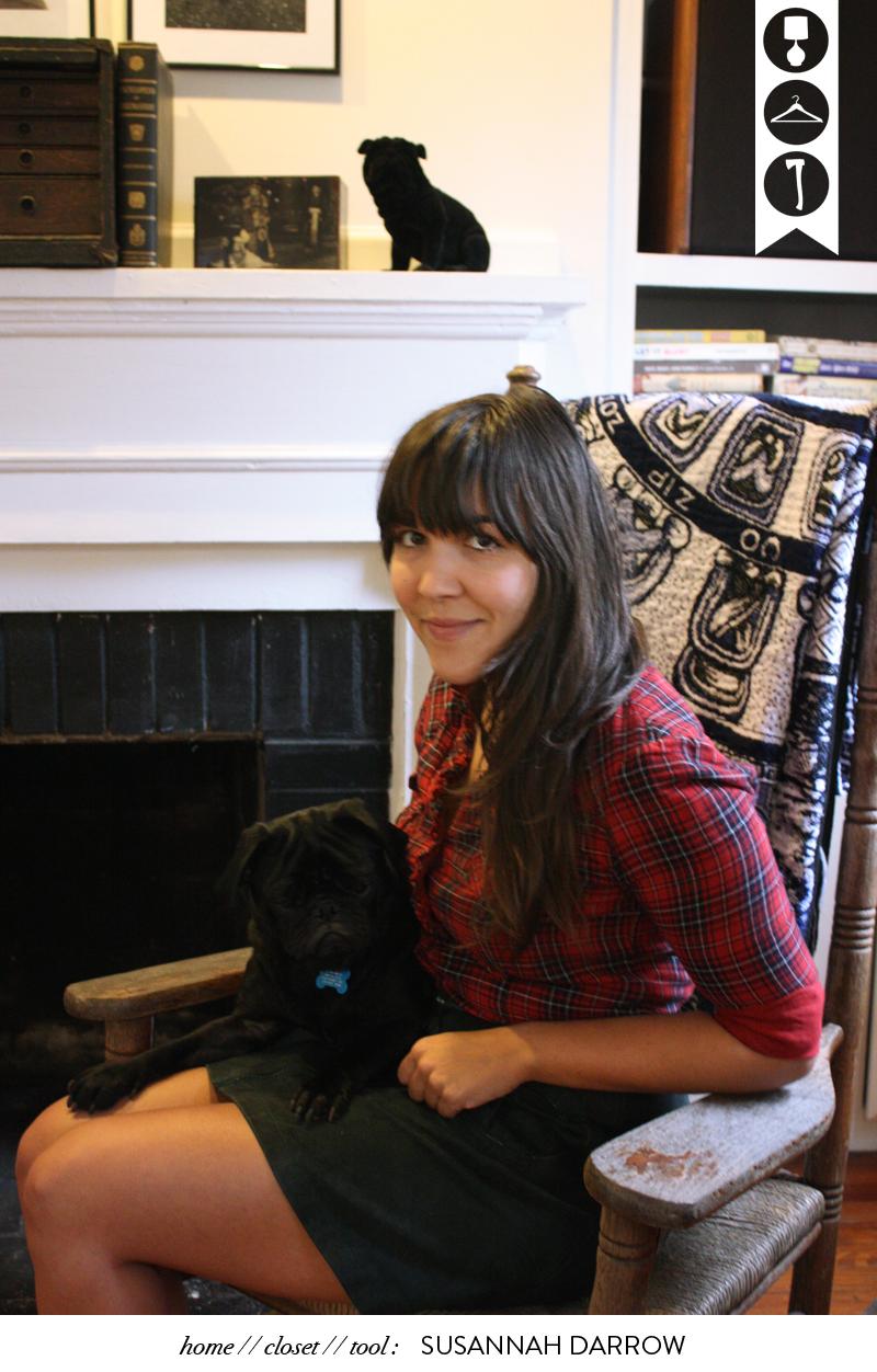 Susannah Darrow glass and sable ciara sames home closet tool artist burnaway atlanta
