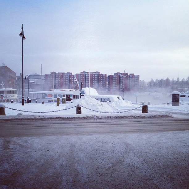 #tampere #winter #cold #snow
