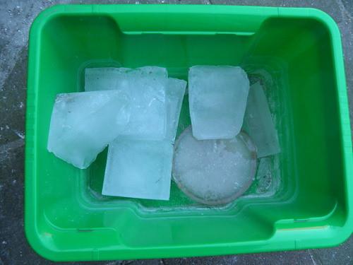 ijsblokken