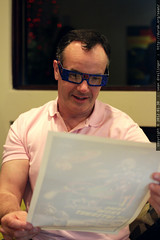 Graham with ChromaDepth 3D specs    MG 8172