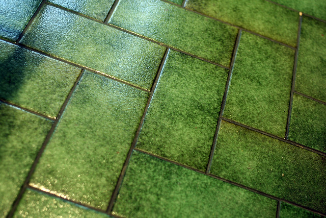Green Tile Floor 2 Flickr Photo Sharing