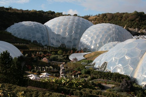 The Eden Project in Cornwall – Top Eco Visitor Attraction