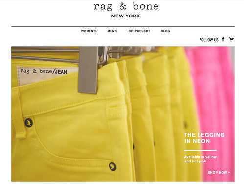 Rag and Bone - More neon