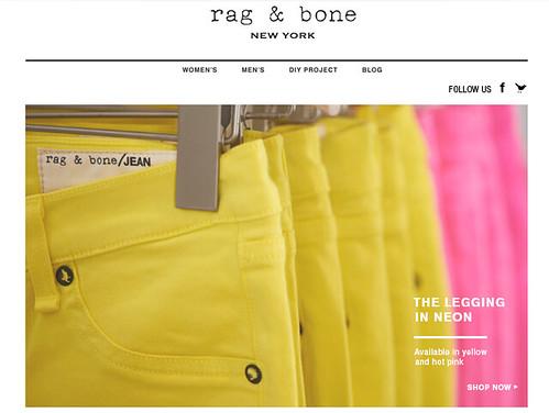 Rag and Bone - More neon