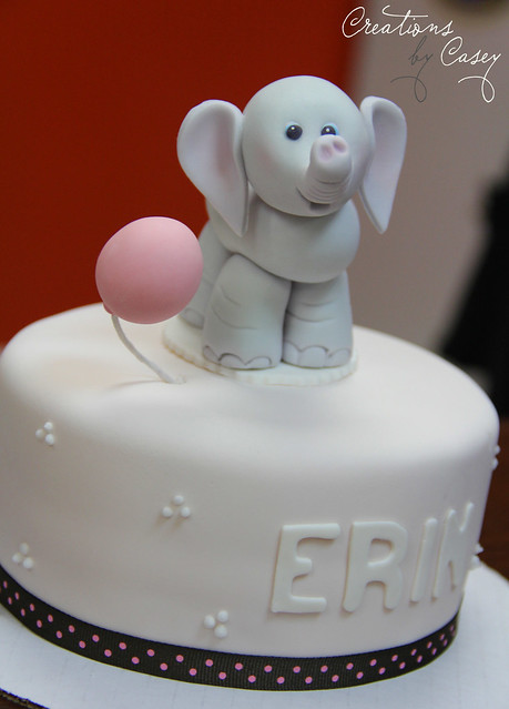 'E' is for Erin and Elephant