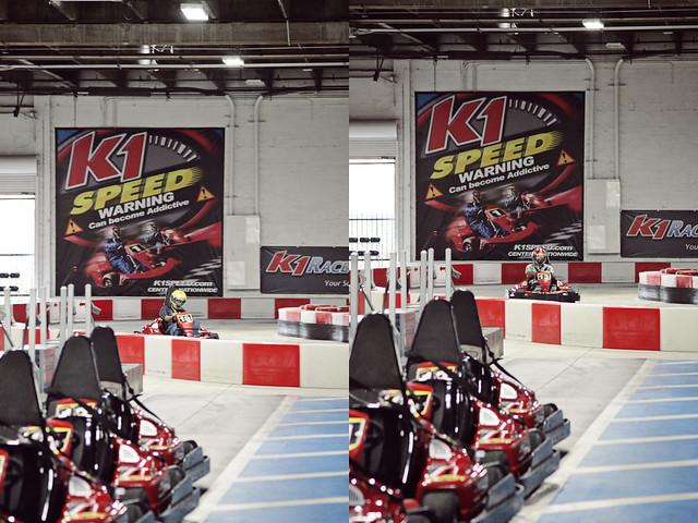 work go-karts 15 diptych