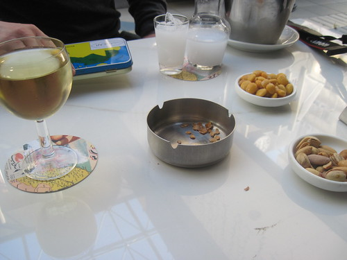 Arak and Wine in Hamra