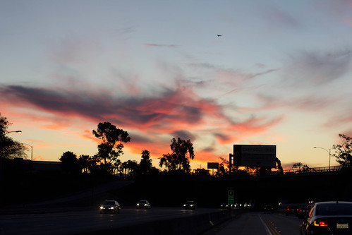 Sunrise over the 405