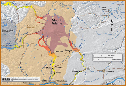 Mount Adams Hazard Map