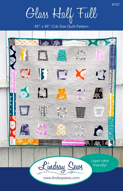 Glass Half Full - Quilt Pattern