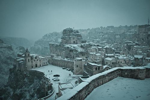 6835232029 67f4ae57bd Lessenza della bellezza unesco snow neve matera foto flickr