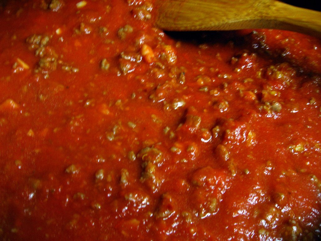 10 minute meat sauce