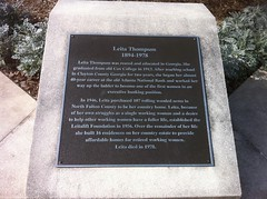 Leita Thompson Plaque