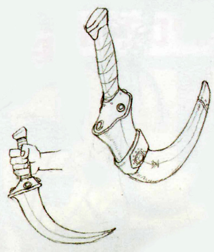 OoT Ganondorf's Knife