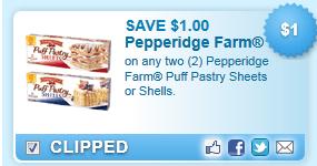 Pepperidge Farm Puff Pastry Coupon