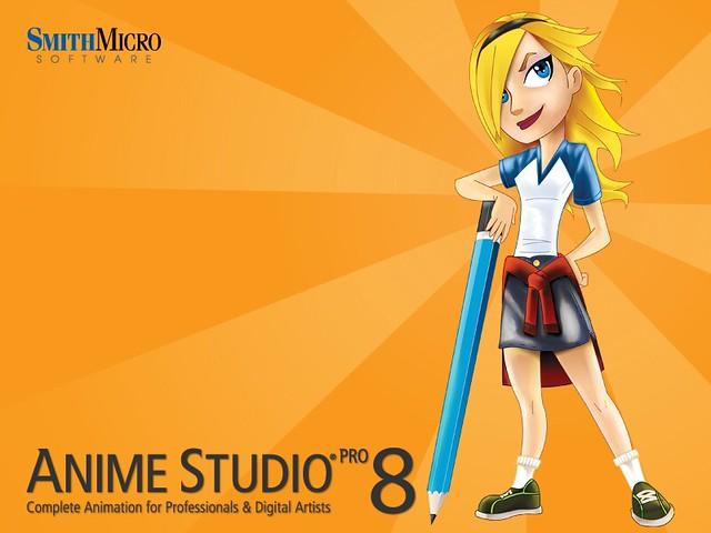 Anime Studio Pro8 繁體中文化