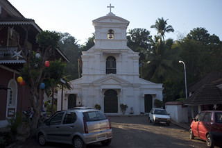 Imageof Chapel of St. Sebastian. india church goa panaji