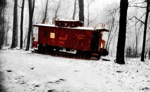Red Caboose by TheMattyPatty
