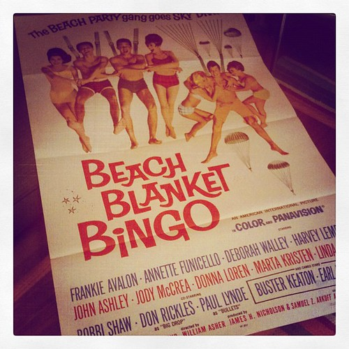 Beach Blanket Bingo! Thanks Unshredded Nostalgia