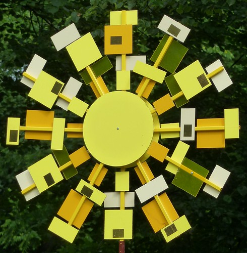 sculpture sun abstract art lines yellow angle curves latvia diagonal riga anawesomeshot