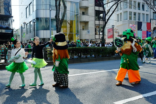 Harajuku St Patricks Day Parade 2014 20