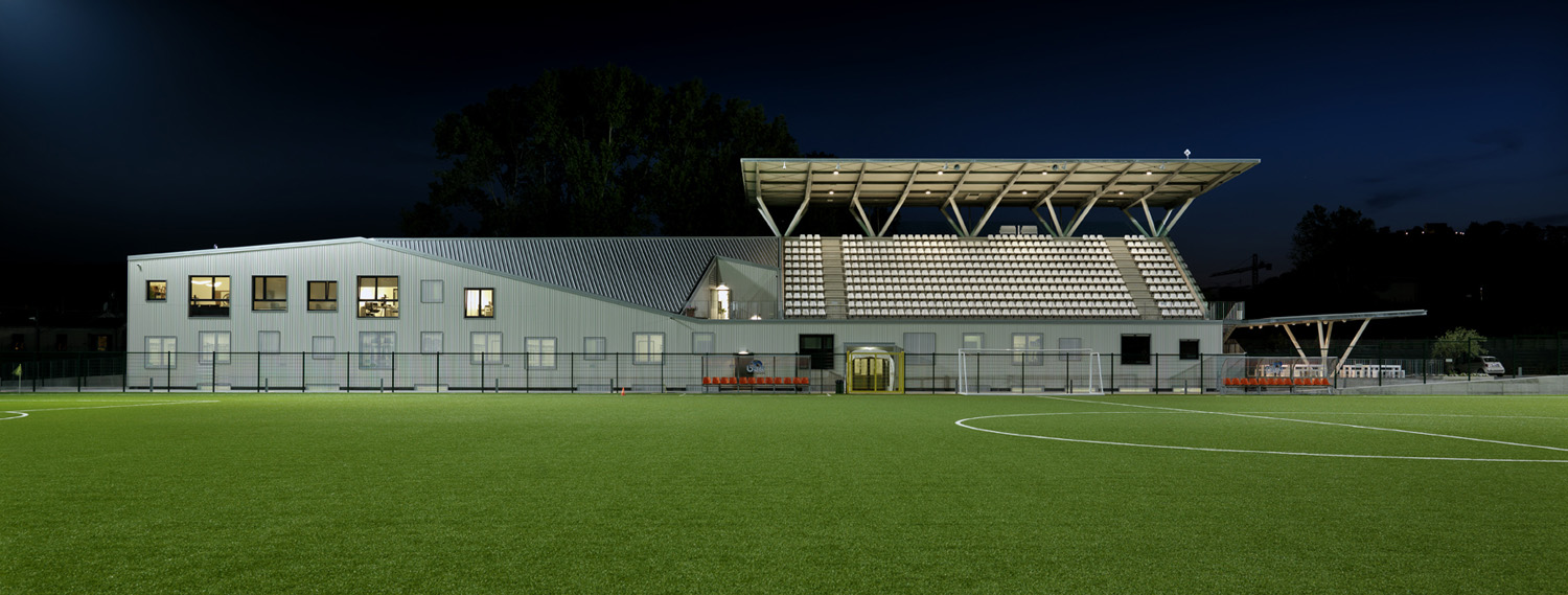 Ferdeghini Sport Complex design by Frigerio Design Group