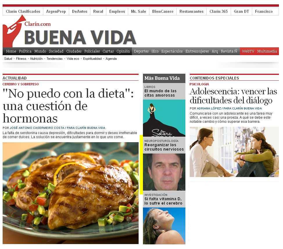 Site Diario Clarín (home) 05-12-13