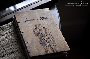 Personalized Portraits Hand-engraved Journal