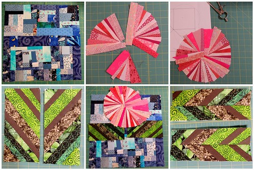 Made Fabric Mosaic