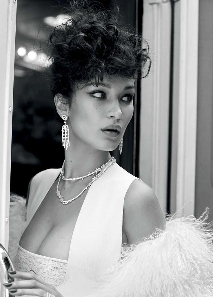 Белла Хадид — Фотосессия для «Vogue» TR 2016 – 6