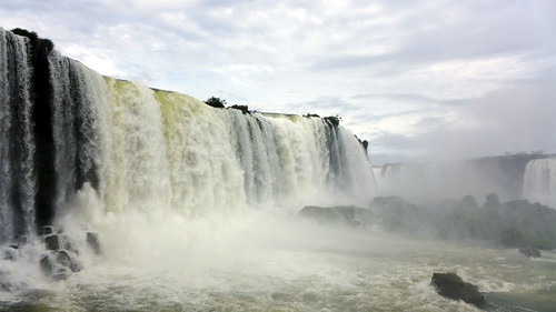 Waterfalls of Iguaçu on the Brazilian side