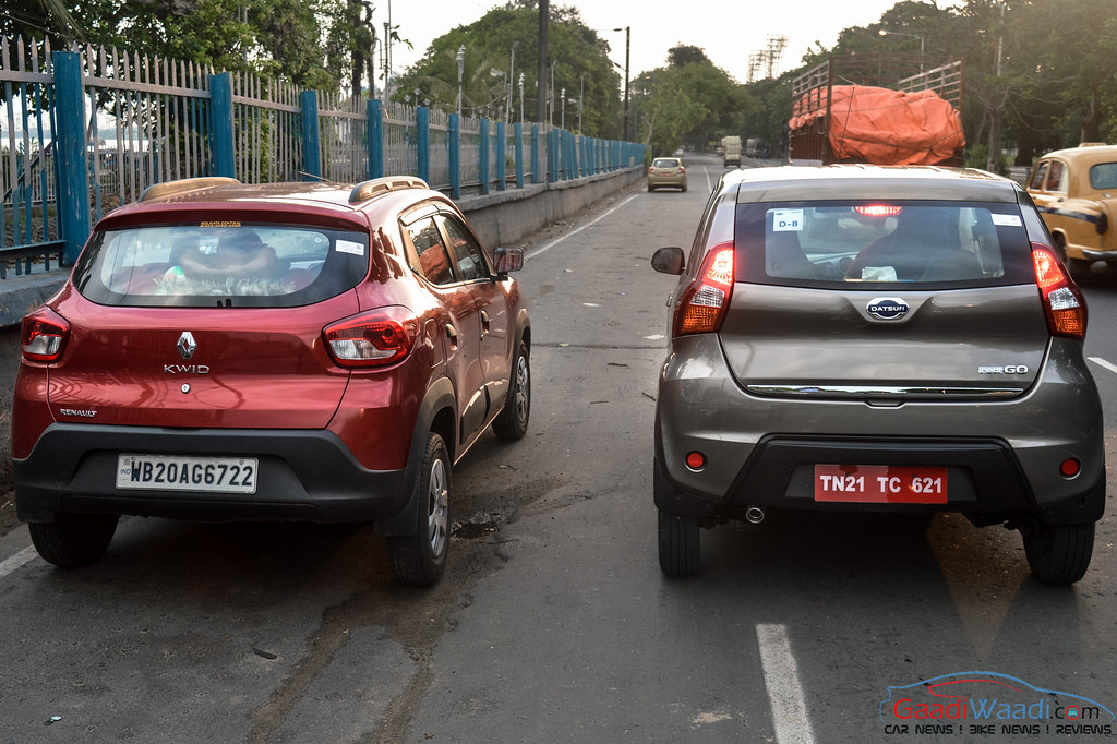 Renault Kwid vs Datsun Redigo