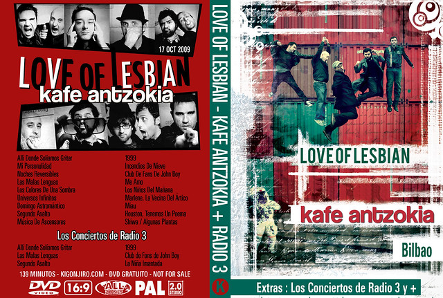 Love Of Lesbian - Kafe Antzokia 2009 + Radio 3