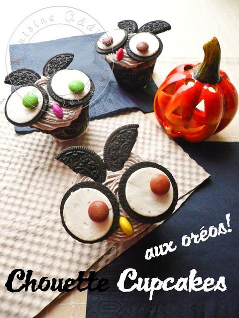 10.1 Cuisine Addict-Oreo Owl Cupcakes